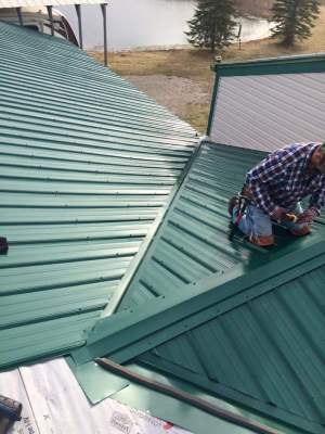 Custom Steel Roofing