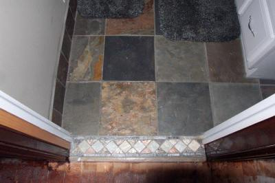 Marble tile and granite is always a nice clean touch to your home.