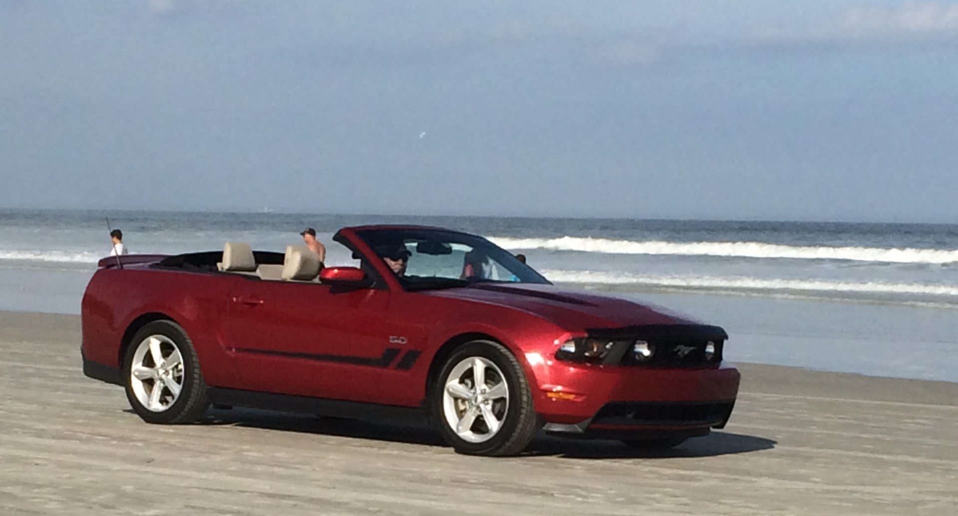 Drive on the Beach in New Smyrna!