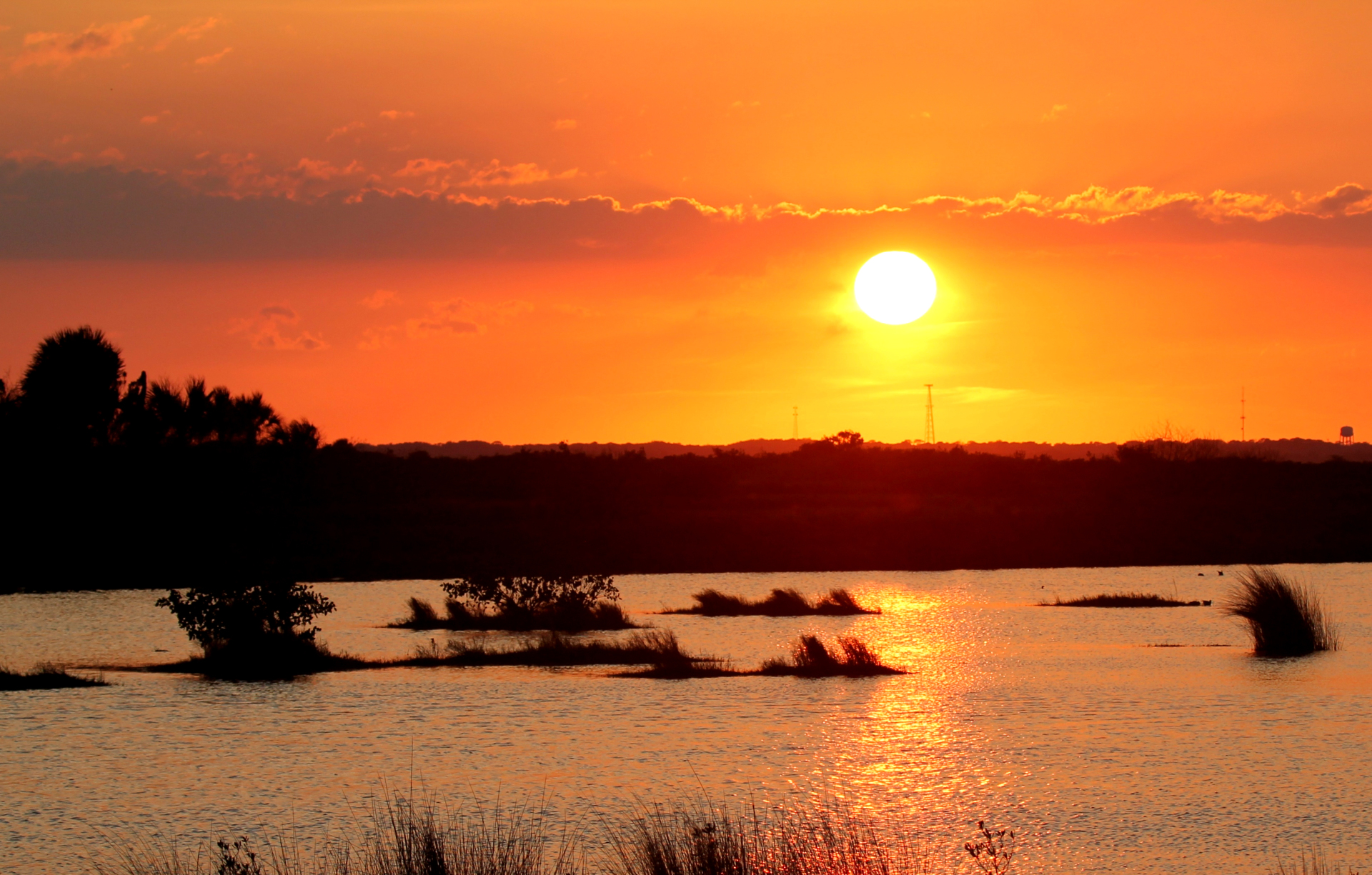 Sunset at Viera Wetlands