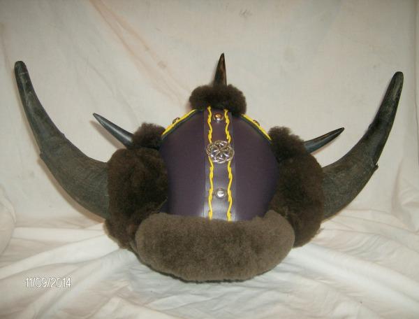 Buffalo Horn Barbarian