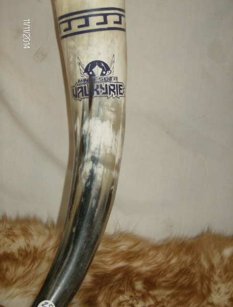 Minnesota Valkyrie Drinking Horn