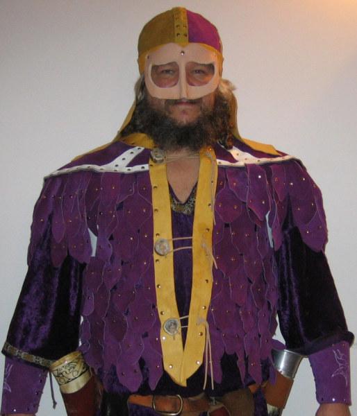 Purple Scale Mail Vest