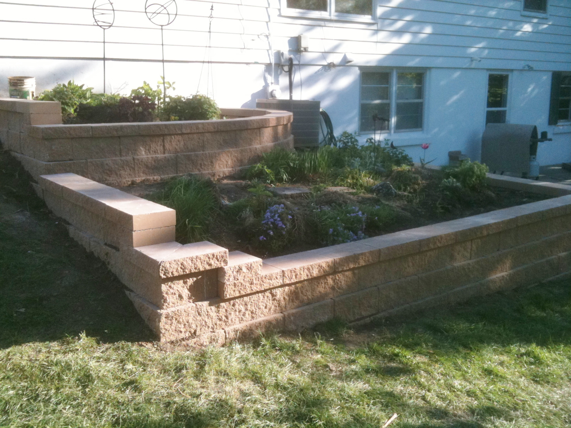 Kings block planter