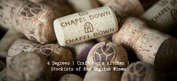 Large Selection of local english wines and beers with 12 draft taps