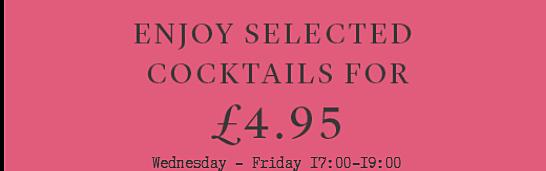 5 O'Clock Cocktails