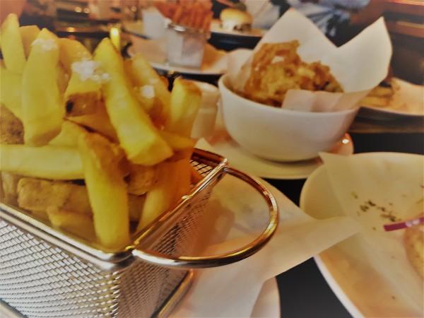 Crispy Skin On Fries