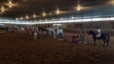 indoor riding ring skyrock farm