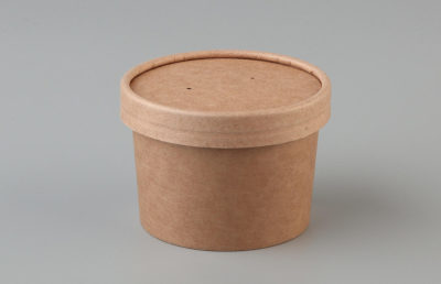 BETA KRAFT FOOD CONTAINER & LID COMBO