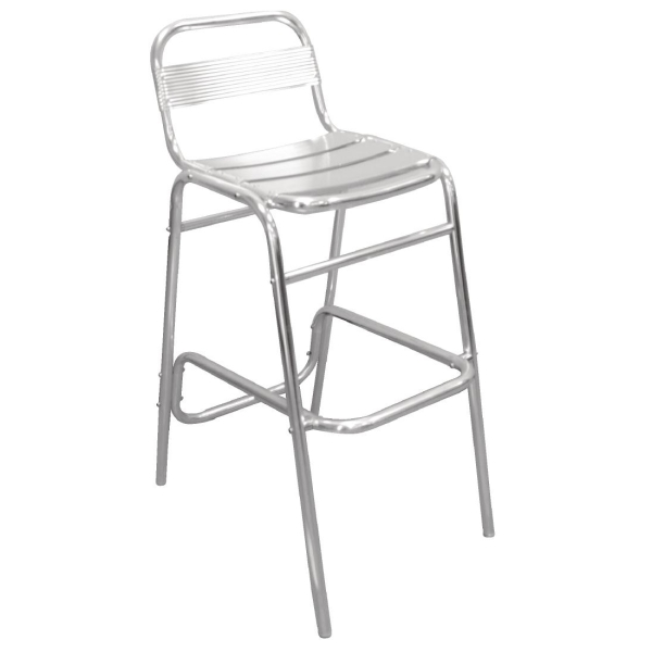 ALUMINIUM BAR STOOL