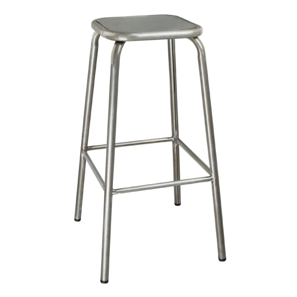DISTRESSED HIGH STOOL