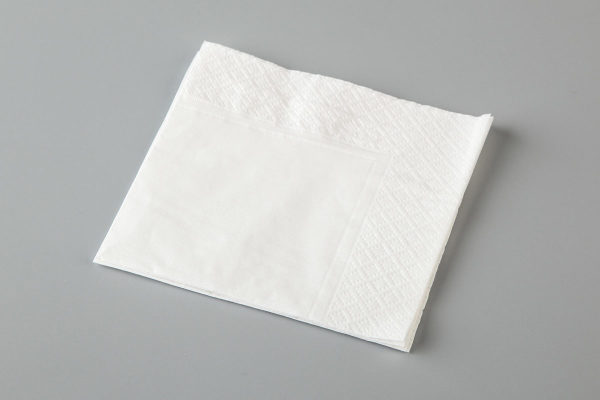 LUNCHEON NAPKIN WHITE QTR