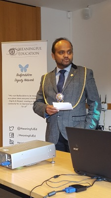 BDN Launch - Luton Mayor Councillor Tahir Khan