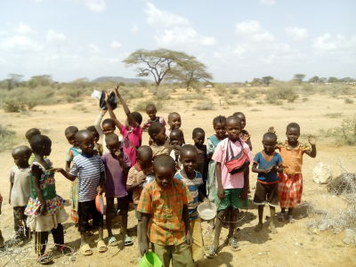 Children at New Dawn Primary