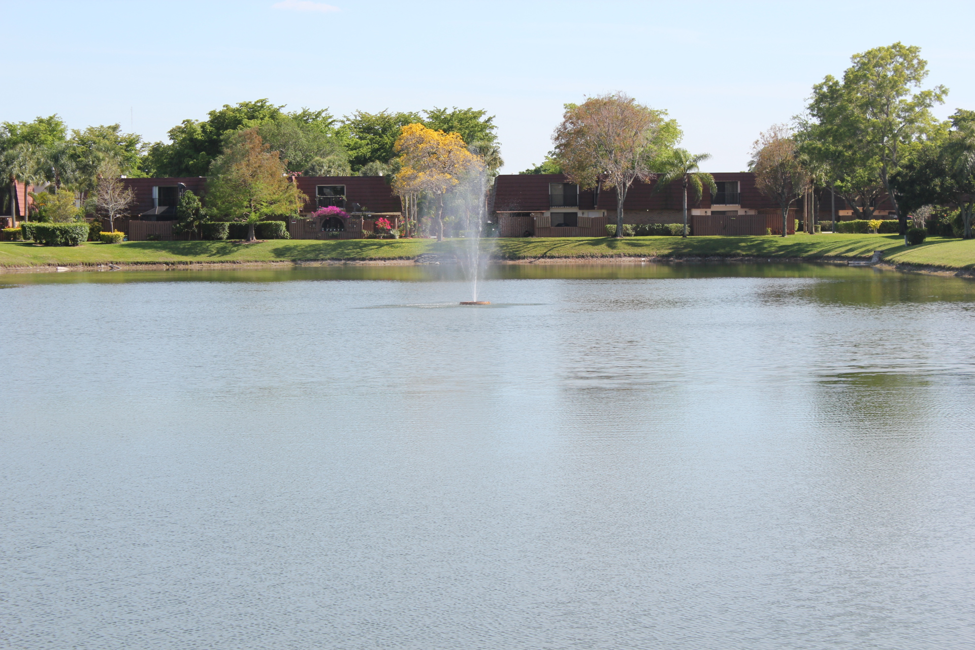 Lake Fountain