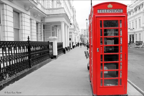 UK telephone boot