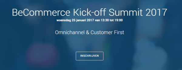 BeCommerce Kick-Off Summit & New Year's Drink: 25 January 2017