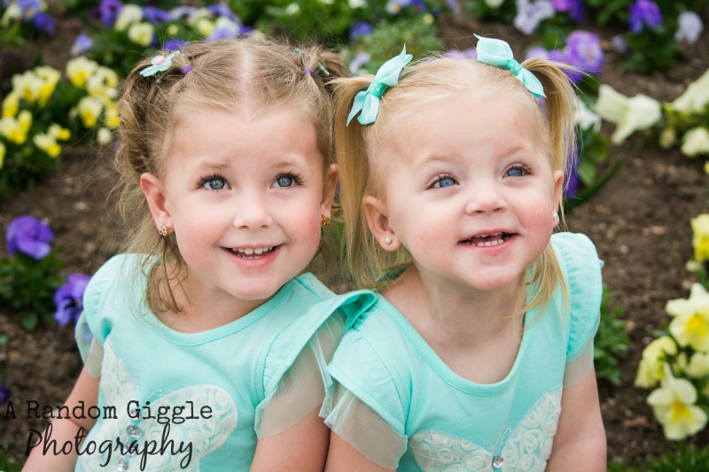 Ella and Lucy - Children Session