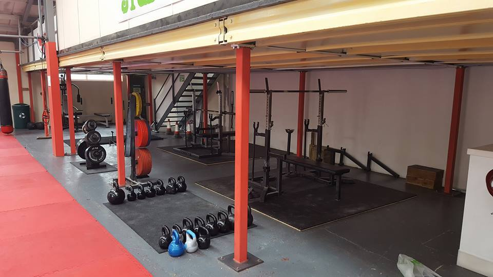 Powerlifting @ tuff house gym Weston-super-Mare