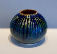 Sea Globe Saundersfoot Tenby Naomi Tydeman Ceramic artist Pembrokeshire studio pottery artfulpotter