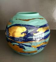 coast pembrokeshire ceramic artist studio pottery saundersfoot The Grove St Brides Penally abbey west coast design Tenby Naomi Tydeman Welsh Art Narberth The Golden Sheaf