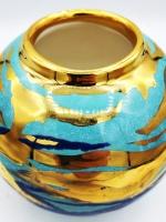 Sea Globe Richard Prentice Pembrokeshire Ceramic Artist Studio Potter Saundersfoot Tenby Naomi Tydeman Ceramics review Fine ArtThe Grove Narberth Penally Abbey Coast Coppett Hall West Coast Designs Coastal Ceramics