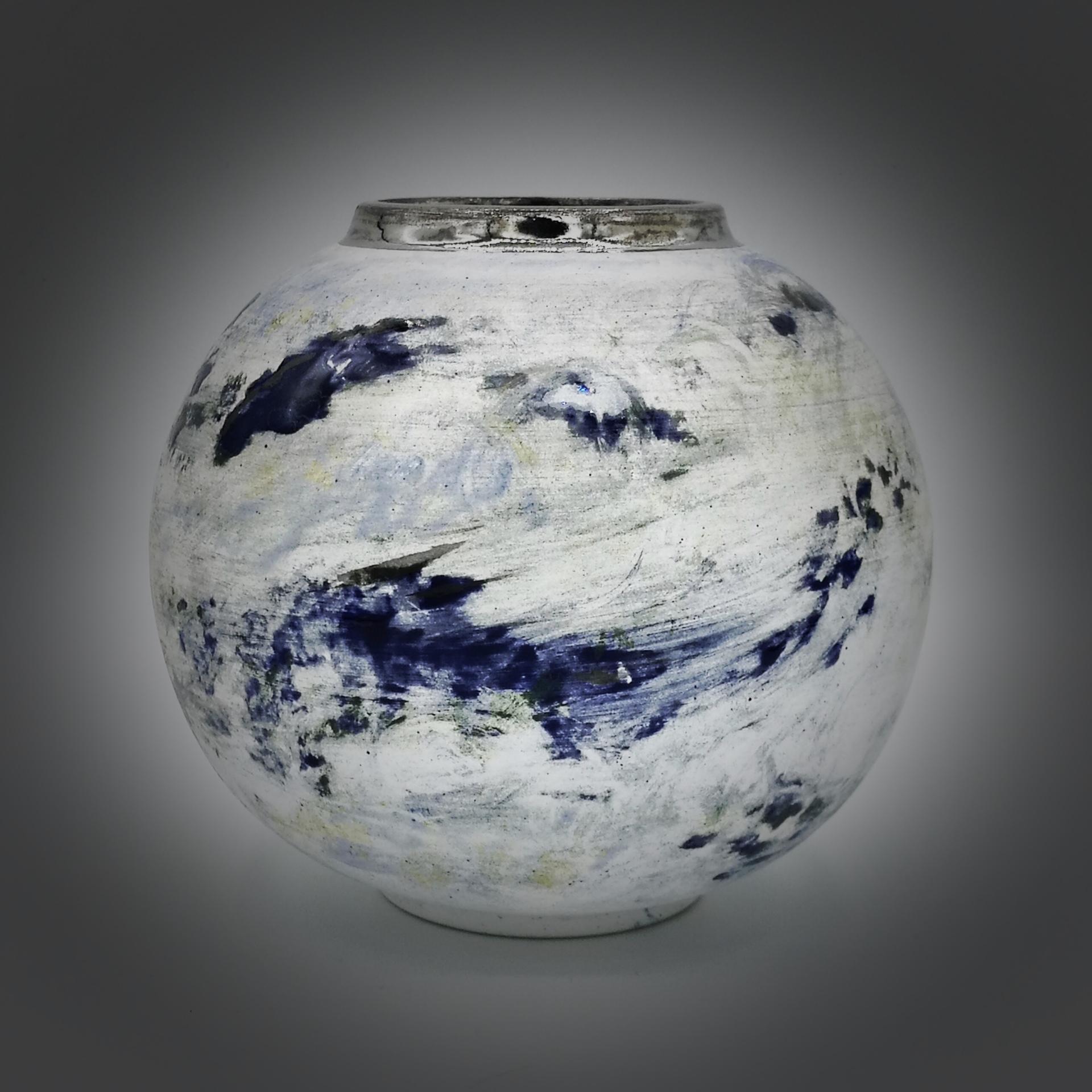 British UK United Kingdom Wales Ceramic Artist Studio Potter Sea Globe Pembrokeshire Coast National Park Storm