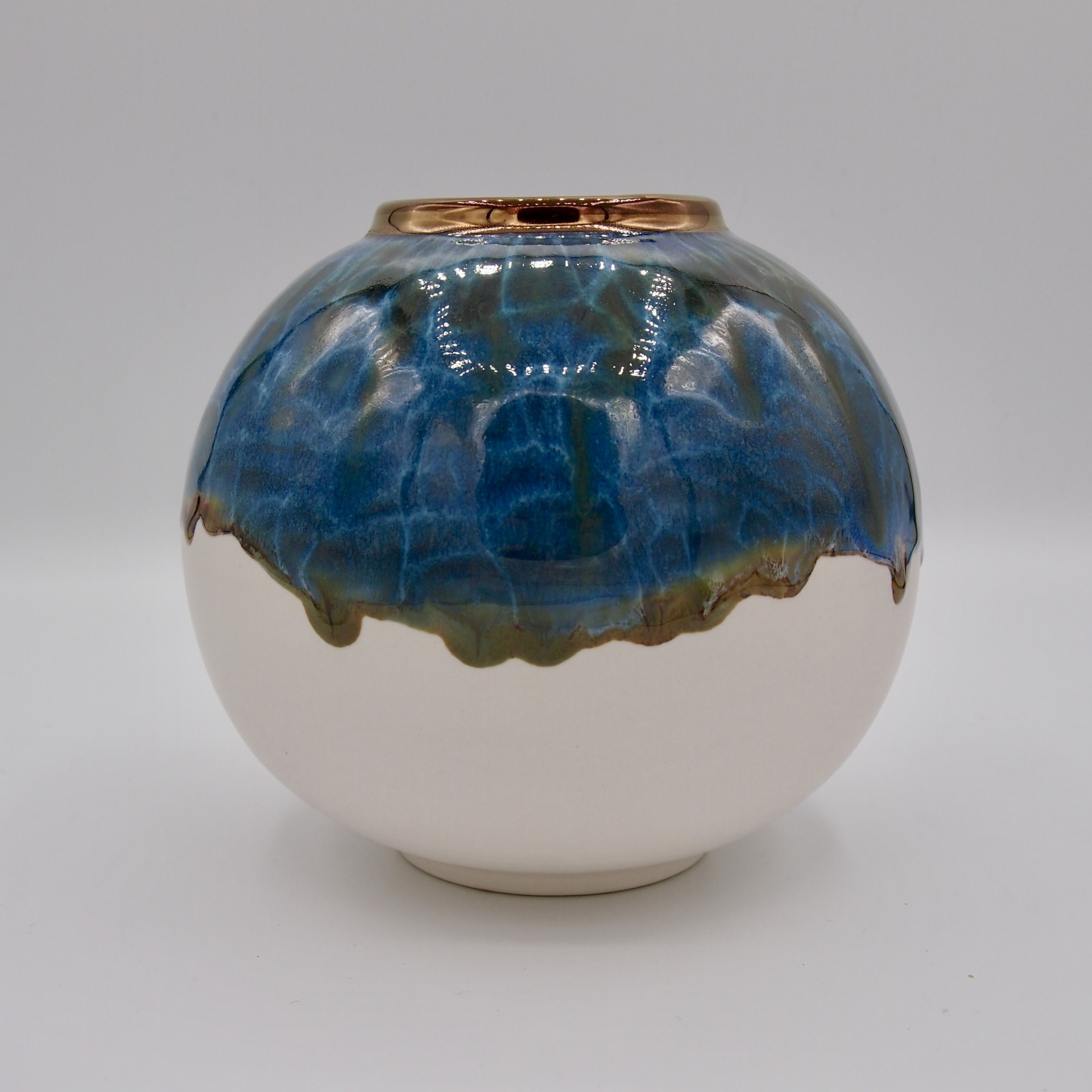 British UK United Kingdom Wales Ceramic Artist Studio Potter Sea Globe Pembrokeshire Coast National Park