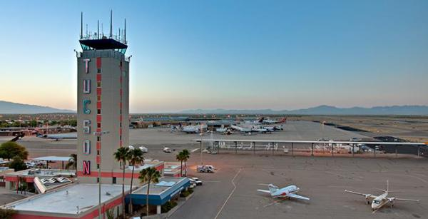 SERVING TUCSON INTERNATIONAL AIRPORT