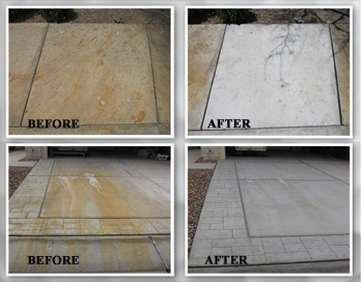 Rust and battery acid stain removal in pearland texas