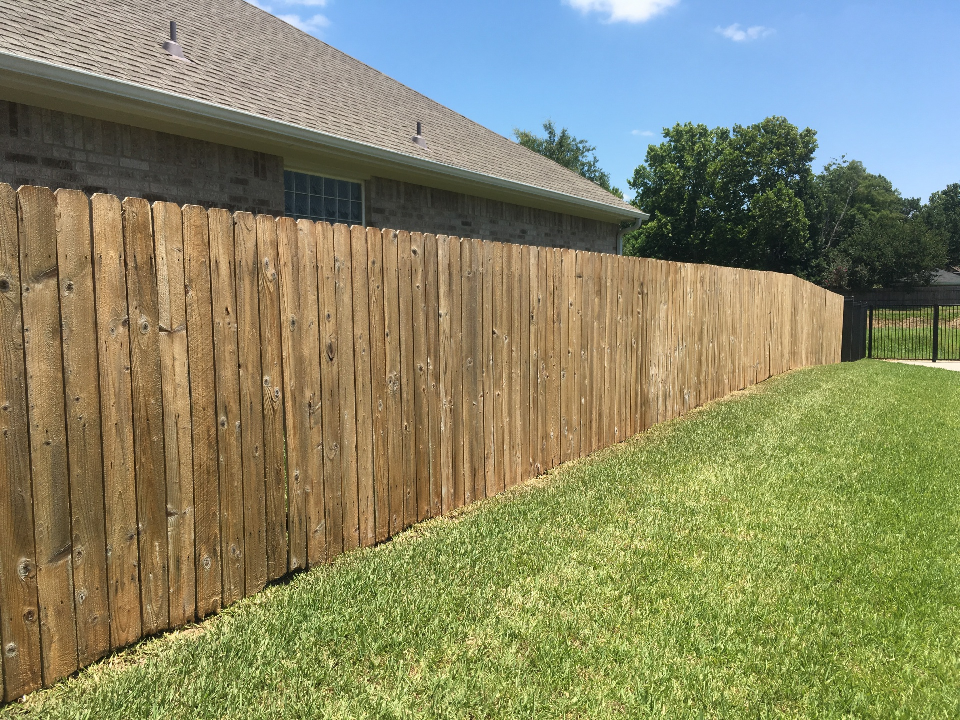 low pressure fence restoration results