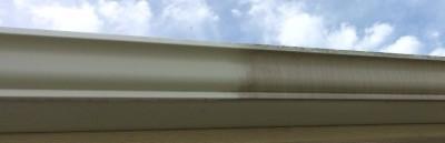 Gutter Brightening  brings the gutters back to look like newe