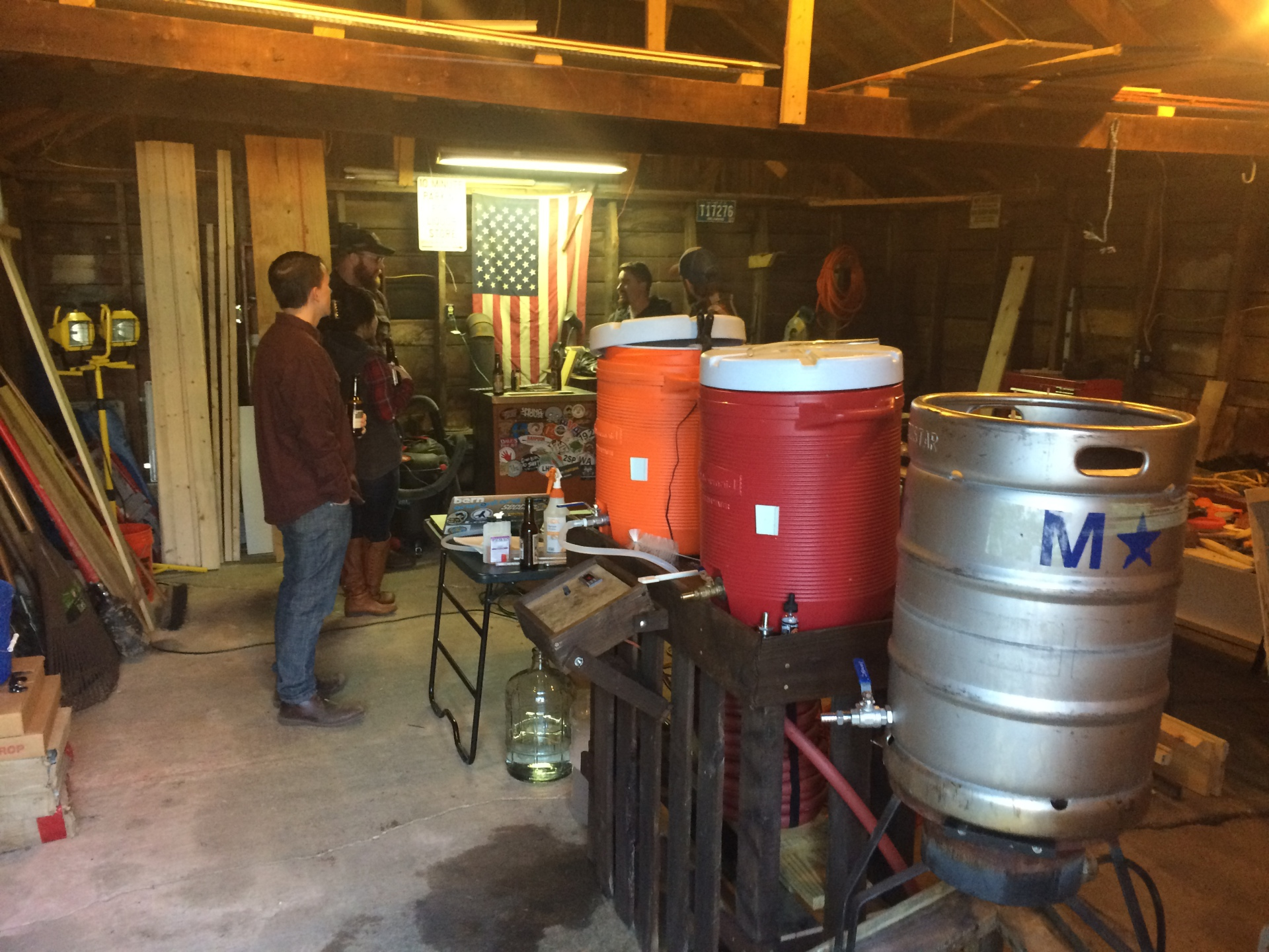 Brewing at Neils