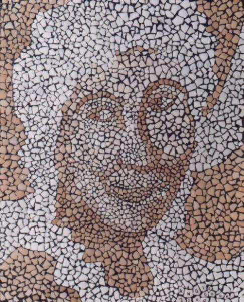 Mosaic (Egg Shells)