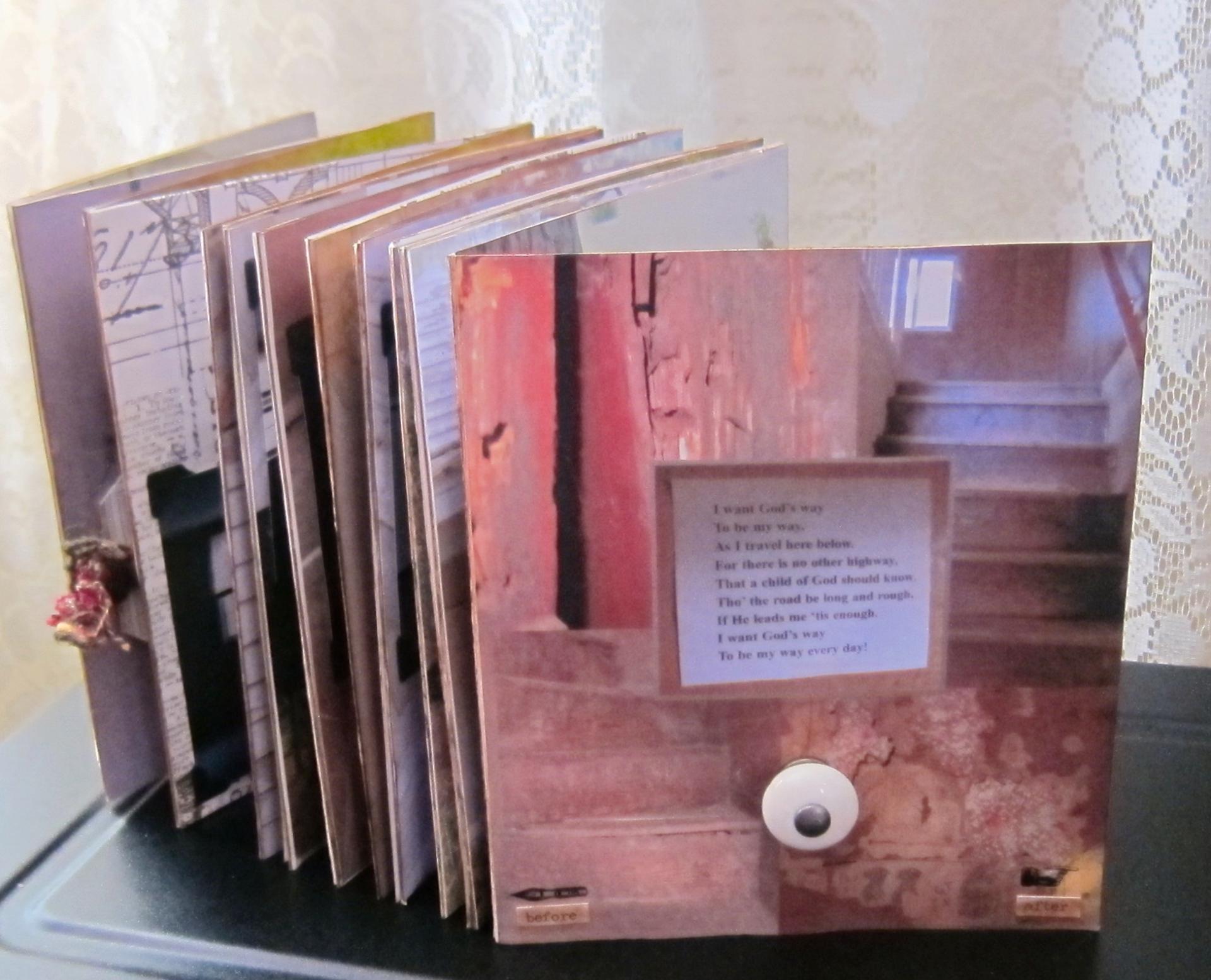 A Concertina Book (accordion fold)