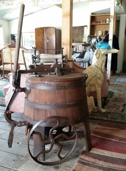 old barrel washing machine $800.00