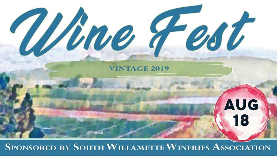 Wine Fest ~ Vintage 2019! Sunday, August 18th  1-8pm @ Hayworth