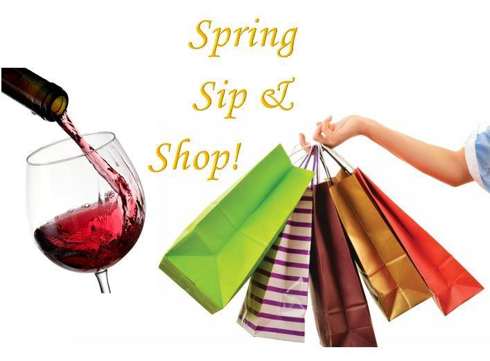 Spring Sip & Shop