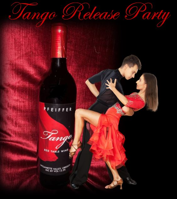 Tango Release Party Thursday, August 1st     6-9pm