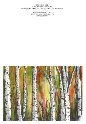 Trees, Set #1, Back