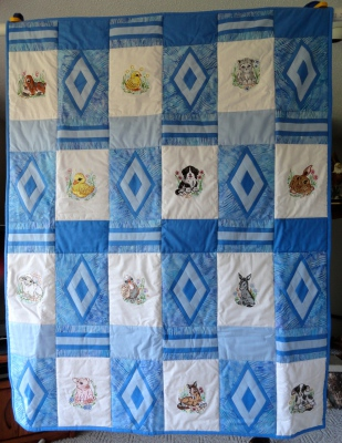 Sweet Fairies Quilt