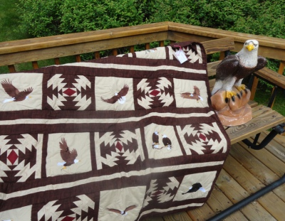Eagles Lap Quilt