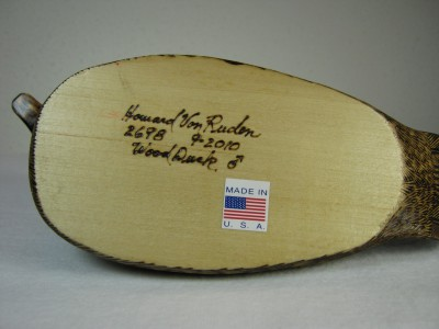 Wood Duck Inscription