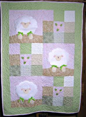 Three Little Lambs quilt