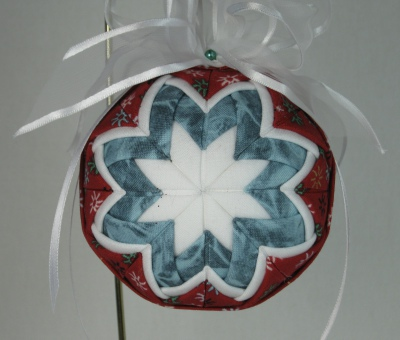 Quilted Ball Ornaments