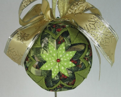 Quilted Ornament #4
