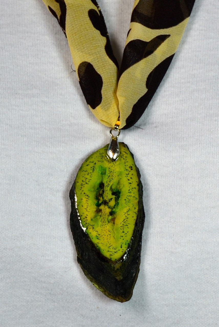 Green Banana Necklace