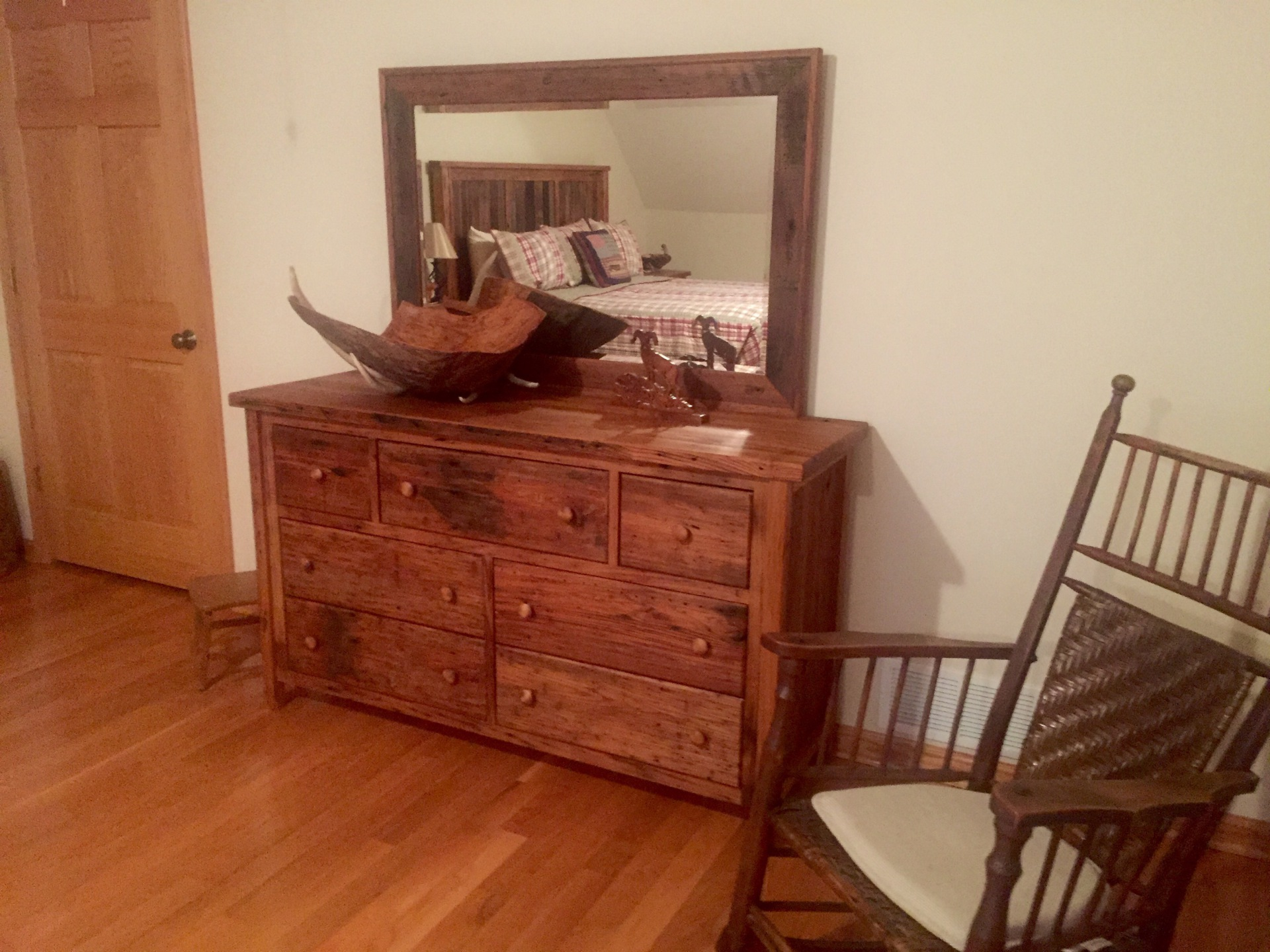 Reclaimed Chestnut Dresser