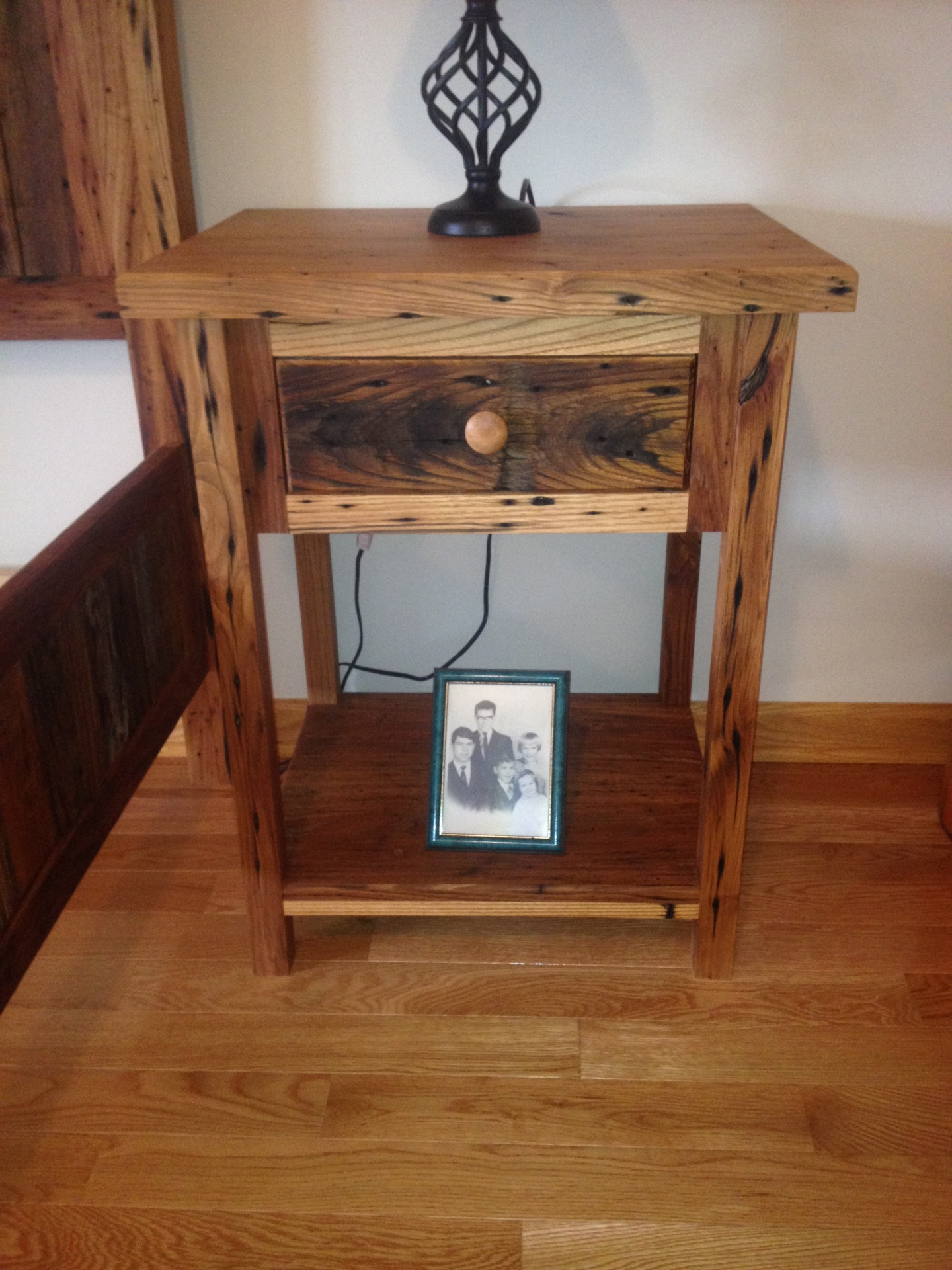 Reclaimed Chestnut Nightstand