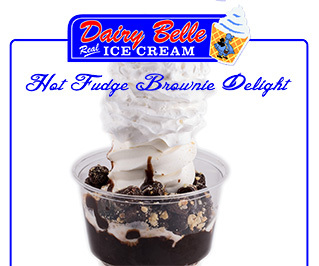 Hot Fudge Brownie Delight